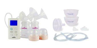 Harga SpeCtra 9 Plus + Freemie + Free Ice Block (Portable Electric Double Breast Pump + Freemie Deluxe Collection Cups)