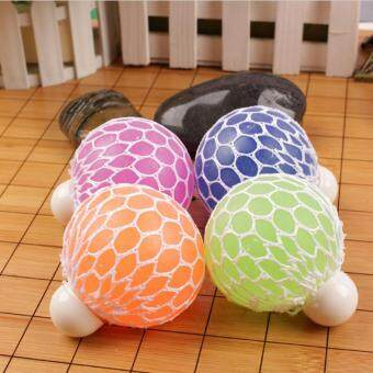 Harga Squishy Mesh Ball Stress Relief Hand Fidget Kit Sensory Fun Toy Autism