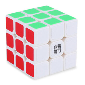 Harga [Stock YJ] Speed Dragon Professional Rdy Rubik Cube Smooth Puzzle3x3 -white