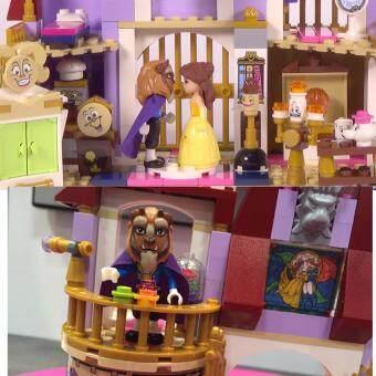 SY581 Beauty & The Beast Lego Block Compatible Set - 3