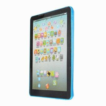 Harga Toys Games Electronic Learning Toys Pad For Kid Child LearningEnglish Educational Computer Mini Tablet Teach Toy Y Blue