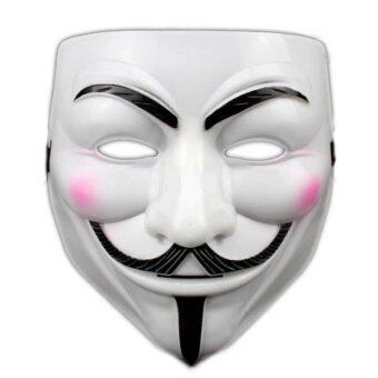 Harga V for Vendetta Anonymous Guy Fawkes Cosplay Party Mask