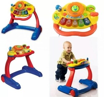 Vtech grow and go safety 3 in 1 musical baby walker for Bureau vtech 3 en 1