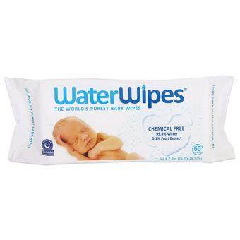 Harga WaterWipes Sensitive Baby Wipes Chemical-Free 99.9% Water (60Wipes) Water Wipes