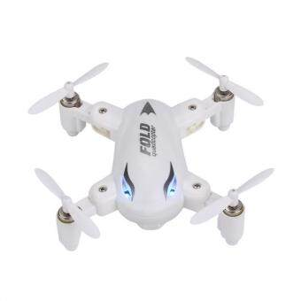 Harga X31 Foldable 2.4G 4CH 6Axis RC 3D Roll Quadcopter Drone White