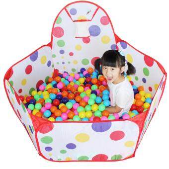 XTV Baby Kids Sea Ball Pool Red Spot Toddler Play Tent With MiniBasketball Hoop  sc 1 st  Dig For More Info About The Latest Best Price and Review & Price u0026 Review Xtv Baby Kids Sea Ball Pool Red Spot Toddler Play ...