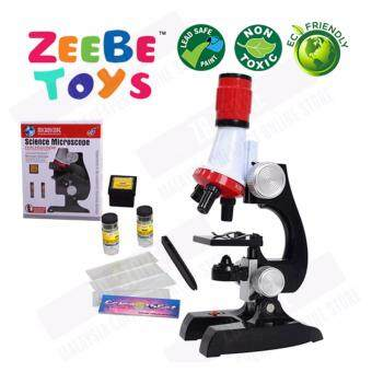 ZEEBE Science Kits for Kids Microscope for Beginner 1200xMagnificatio