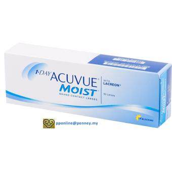 Harga 1-DAY ACUVUE MOIST Contact Lenses *-1.50 (30 lenses/box)