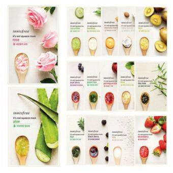 (10 sheet 10 kinds Mask) Innisfree It´s Real Squeeze Mask (100% Original)