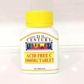 21st CENTURY Acid Free Vitamin C 1000Mg 50's