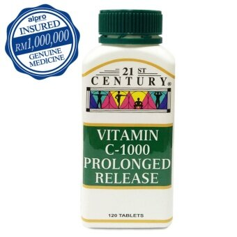 21st Century Vitamin C 1000mg Prolonged Release 120's