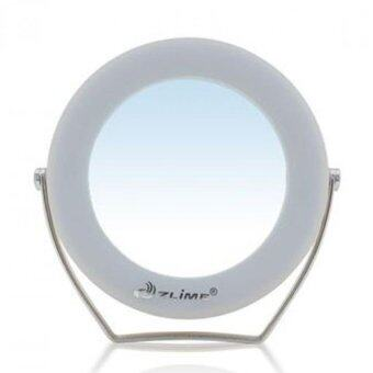 3x Magnifying LED Make-Up Mirror (Champagne Gold) - 3
