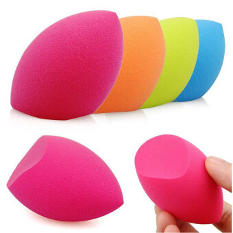 Harga 4Pcs Makeup Sponge Blender Foundation Powder Puff Flawless BlendingCosmetic Puff Makeup Tools Beauty Egg Facial Make Up Sponge