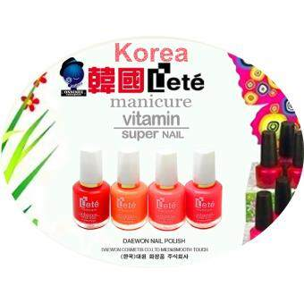 Harga (5 Pcs) Onninez Korea Lete Vitamin Nail Polish 15ML - 5 DifferentColours