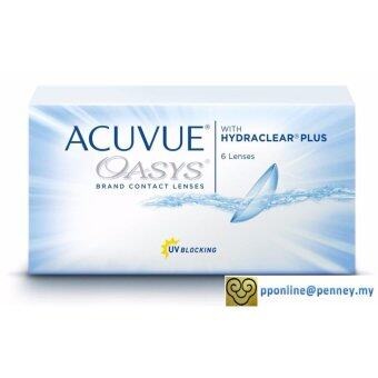 Harga Acuvue - Oasys 2-WEEK with Hydraclear Plus Contact Lenses *-3.00 (6lenses/box)