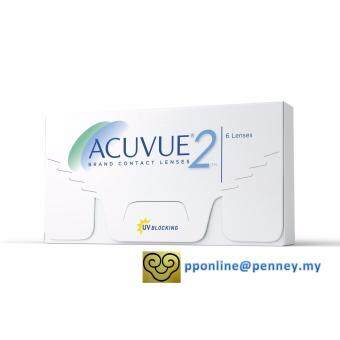 Harga ACUVUE(R)2 2-Week Contact Lenses *-3.00 (6 lenses/box)