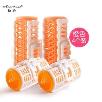 Air in the buckle hair curler
