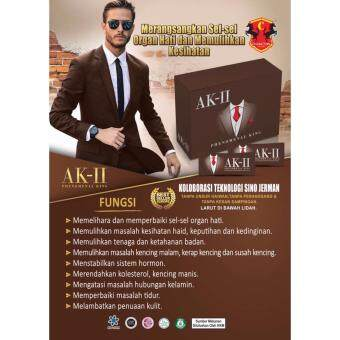 Harga AK2 AK-II Upgraded K2 K-II Phenomenal King (20 sachets/Box) Halal ~NEW PACKING