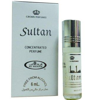 AL-Rehab Concentrated perfume oil - Roll on Bottle 6ML - Sultan