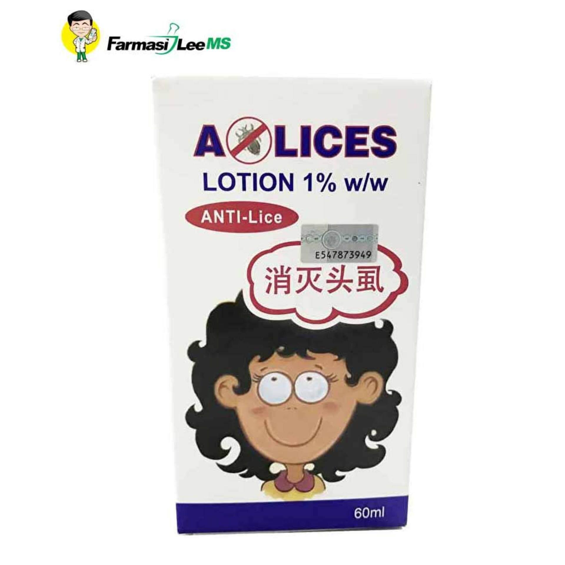 Hot Deals Alices Lotion 1 W 60ml Anti Kutu Lice Bajet Terbaik Shampoo Cheapest Price