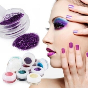 Harga Allwin Colorful 30 Colors Eye Shadow Powder Makeup MineralEyeshadow