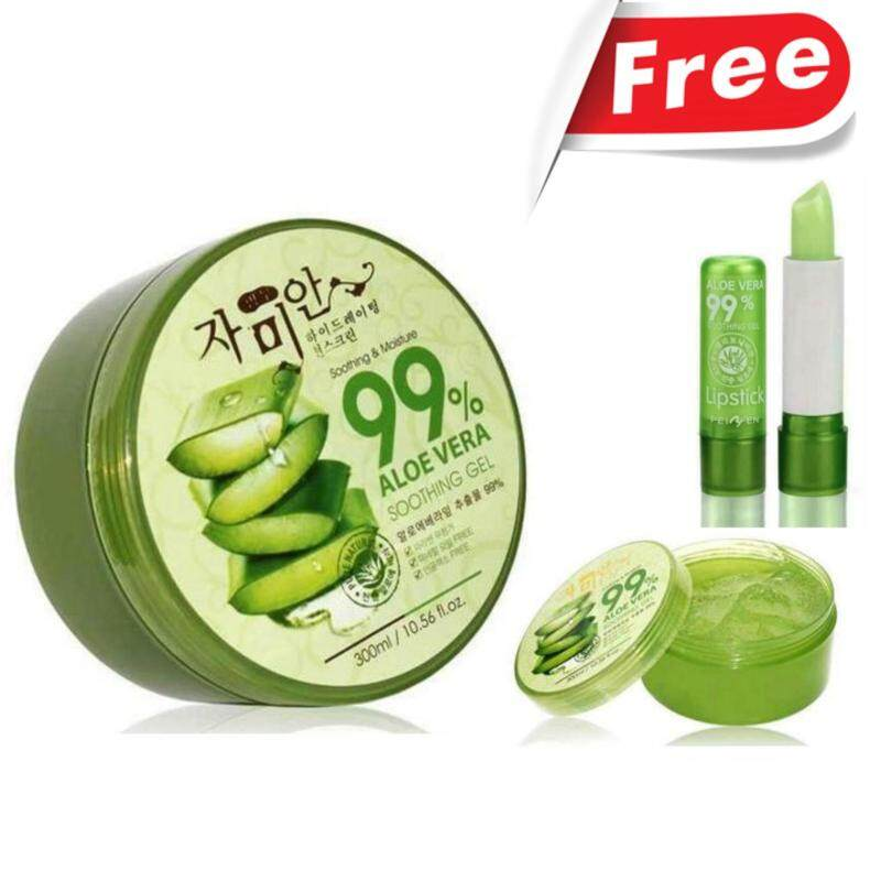 Aloe Vera soothing gel 99% 300ml, soothing & Moisture Malaysia