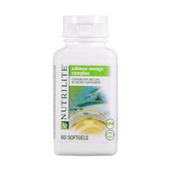 Harga Amway NUTRILITE Salmon Omega Complex contains EPA and DHA asDietary supplement (60 softgels)