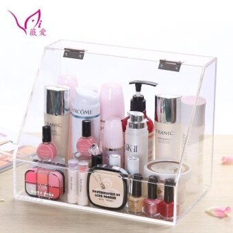 Harga AO-B-17 High Volume Clear Acrylic Cosmetic Makeup Organizer Box