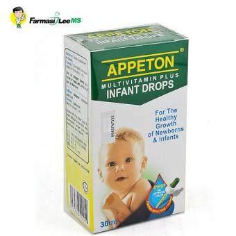 Appeton Multivitamin Plus Infant Drops 30ml (Exp 06/2019)