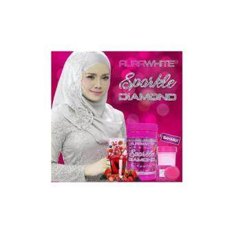 Harga AURA WHITE BEAUTY SPARKLE DIAMOND + SHAKER +SOAP+ FREE GIFT