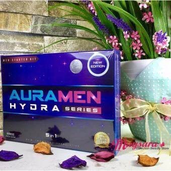 Harga AURAMEN Skincare NEW Edition ~ HYDRA Series Set 5-in-1