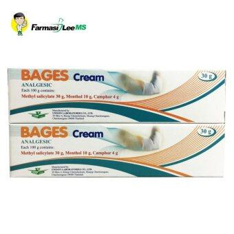 BAGES Cream Analgesic 30g - 2 boxes