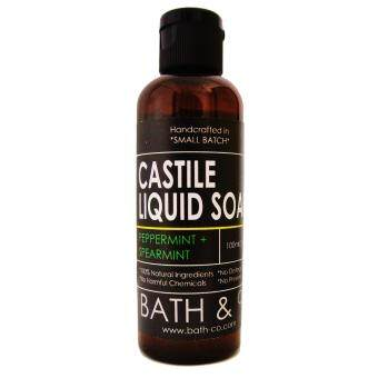 Harga Bath & Co Castile Liquid Soap Peppermint and Spearmint