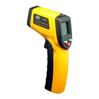 Benetech GM320 LCD Gun Style Infrared Thermometer with Laser Pointer -50~380? (~58~716?) - 2