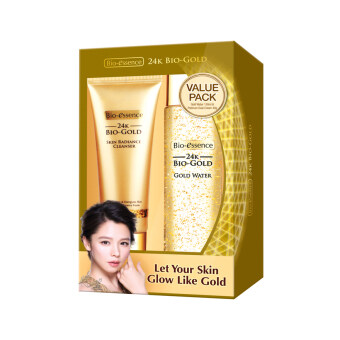 Harga BIO-ESSENCE Bio Gold Gold Water + Skin Radiance Cleanser 1PACK