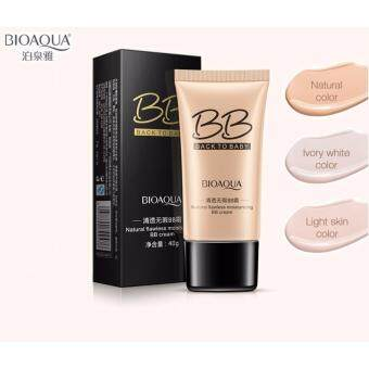 Harga BIOAQUA BACK TO BABY FLAWLESS MOISTURIZING BB CREAM 40g - Ivory White