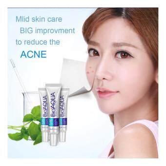 BIOAQUA Face Acne Treatment Acne Scars Cream Anti Acne Removal Gel Whitening Moisturizing Cream 30g