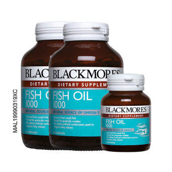 Harga BLACKMORES Fish Oil 1000mg 2 x 120's + 30's
