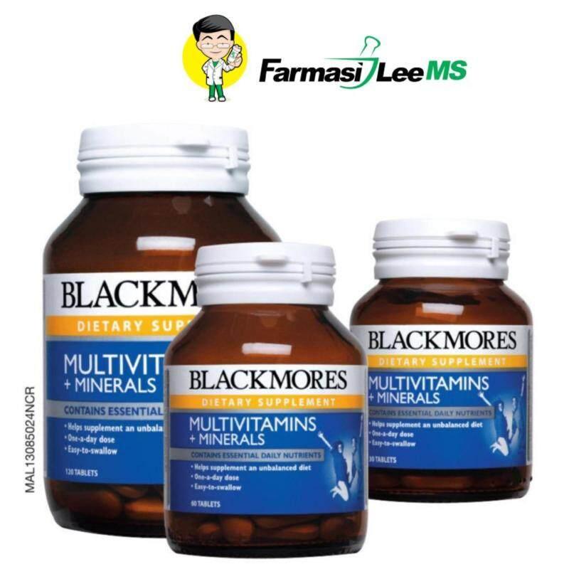 Blackmores Multivitamins 120s+ 60s+30s (Exp 03/2019) Malaysia