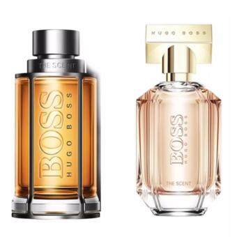 Harga BUNDLE SET LIMITED OFFER HUGO BOSS THE SCENT FOR HIM 100ml HUGOBOSS THE SCENT FOR HER 100ml