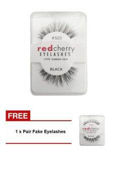 Harga (Buy one get one freebie)Women Pro Soft False Fake EyelashesAdhesives Beauty Natural Eye lashes