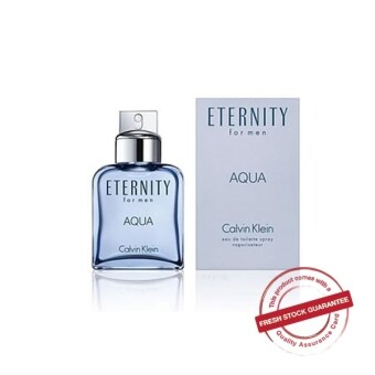 Harga CALVIN KLEIN CK ETERNITY AQUA EDT MEN 100ML