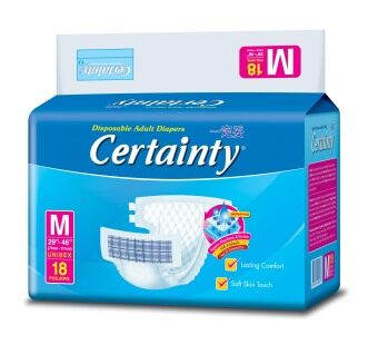 Certainty Adult Tape Value M18 (6 packs) - 2