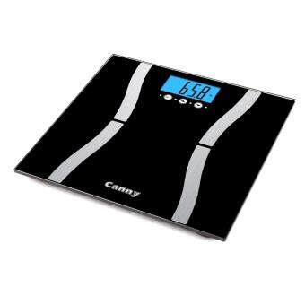 Harga CF571 BIA Technology Smart Scale Digital Body Fat Weighing ScaleWeight Scale 7 in 1 Features Slimming Buddy Weighing Scale (Black)