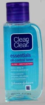 CLEAN+CLEAR OIL CONTROLLING TONER 50ML