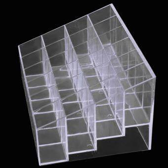 ... Clear Acrylic 24 Lipstick Holder Display Stand Cosmetic StorageRack Organizer Makeup Make up