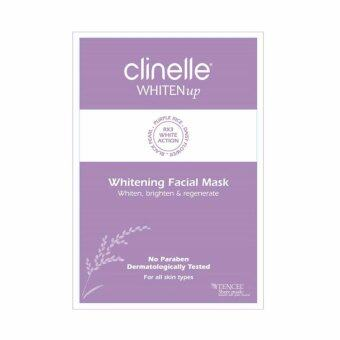 Harga CLINELLE Whiten Up Facial Mask 1's