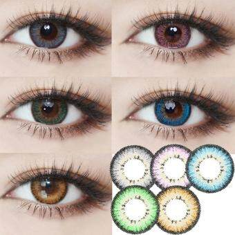 Contact Lens Highlight Eye Makeup Enlarge Eyes Girls CosmeticLentilles de