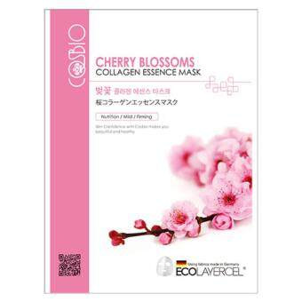 Harga COS BIOTIC KOREAN CHERRY BLOSSOM COLLAGEN MASK PACK 5+5