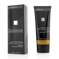 Dermablend Leg Body Buildable Liquid Body Foundation Sunscreen Broad Spectrum SPF 25 - #Tan Golden 65N 100ml